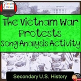 Cold War: Vietnam War Protest Song Analysis Activity
