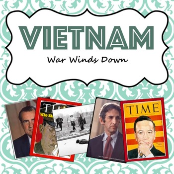Vietnam War Winds Down guided PowerPoint lesson