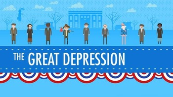 Viewing Guide- Crash Course US History #33: The Great Depression