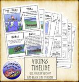 Vikings Timeline Cards