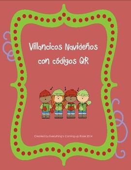 Villancicos Navidenos con Codigos QR - Spanish Christmas C