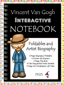 Vincent Van Gogh Interactive Notebook Foldables