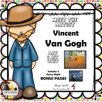 Vincent Van Gogh - Meet the Artist - Artist of the Month -