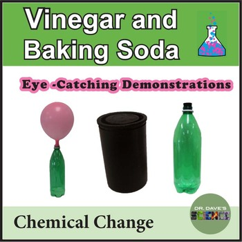 Vinegar Baking Soda Demonstrations
