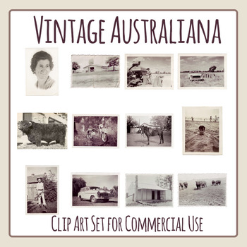 Vintage Australiana / Australian Photos from the 50s and E