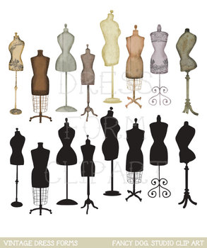 Clipart - Dress Forms