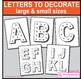 Vintage Fairground A-Z Alphabet Bulletin Board Letters, Fi