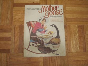 Vintage Frank Baber's Mother Goose Nursery Rhymes (Include