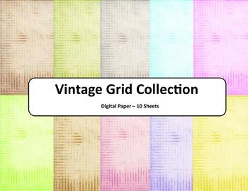 Vintage Grid Paper