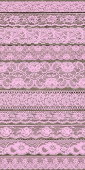 Vintage Pink Lace Borders Clipart Shabby Chic Overlays Emb