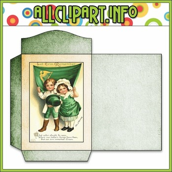 $1.00 BARGAIN BIN - Vintage St. Patrick's Day Seed Packet 3