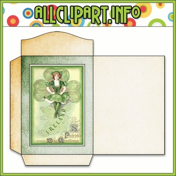 $1.00 BARGAIN BIN - Vintage St. Patrick's Day Seed Packet 6