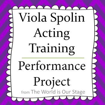 Viola Spolin Acting Training Characterization Pantomime Pe
