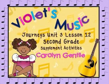 Violet's Music Journeys Unit 3 Lesson 12 Second Grade Supp