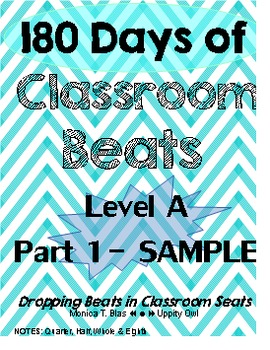 12 DAY SAMPLE: 180 Days of Classroom Beats - Level A - Par