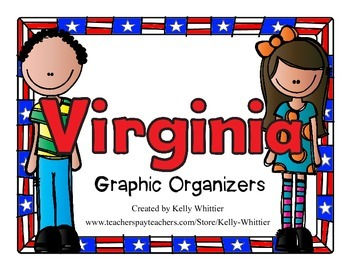 Virginia Graphic Organizers (Perfect for KWL charts and ge