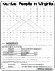 Virginia History Crosswords and Word Searches VS.2 - VS.10