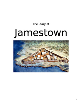 Virginia History Guided Notes-Jamestown