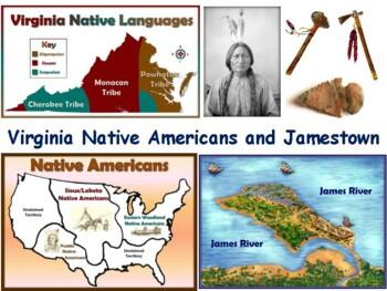 VA Studies: Indians and Jamestown Lesson-study guide, exam prep