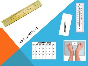 Virginia SOL Introduction to Measurement PowerPoint for Ki