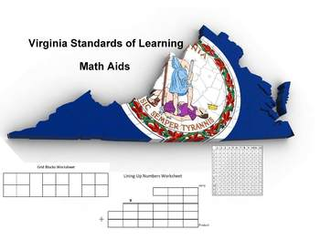 Virginia SOL Math Aids Bundle