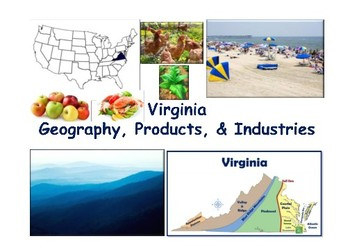VA Studies: Geography, Products & Industries Flashcards- t