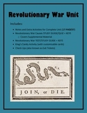 Virginia Studies Revolutionary War Unit (VS.5 a-c)