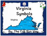 Virginia Symbols Foldable