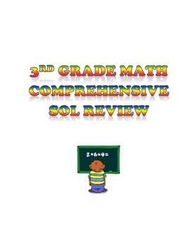 Virginia Third Grade SOL - Comprehensive Math Review