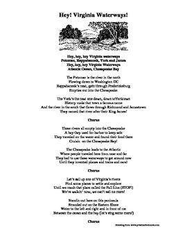 Virginia Waterways Lyrics