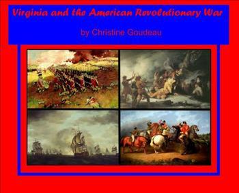 Virginia in the Revolutionary War-SMARTboard Lesson-FUN!In