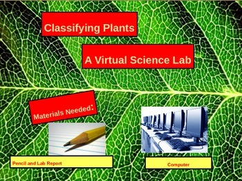 Virtual Science Lab: Plant Classification Vascular and Non