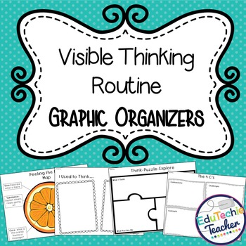 Visible Thinking Routine Graphic Organizers