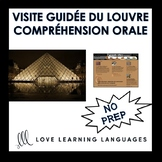 French Listening Comprehension Exercise - Visit the Louvre