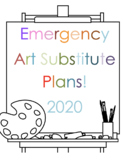 Art Sub Plans / Lessons with K-12  with Step-by-Steps for