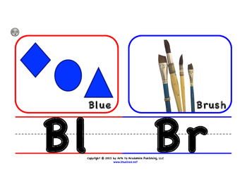 Visual Art Letter Blend Posters (Medium Sized)