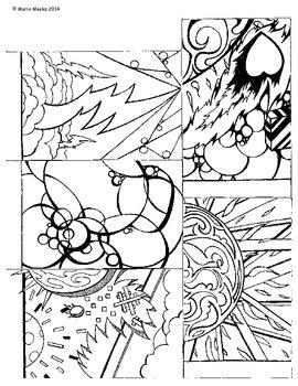 Visual Art - Writing Prompt, Bookmark, Incentive