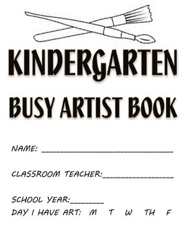 Visual Arts: Elementary (K - 5th Grades) Sketchbook or Bus