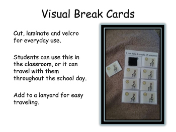 Visual Break Cards