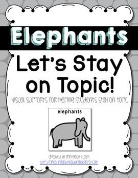 Visual Conversation Support: Elephants