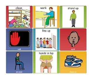 Visual Cue Cards