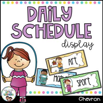 Daily Schedule - Chevron