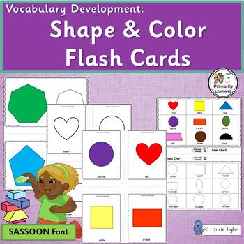 Visual Discrimination ~ Color & Shape Cards for PreK & Kin