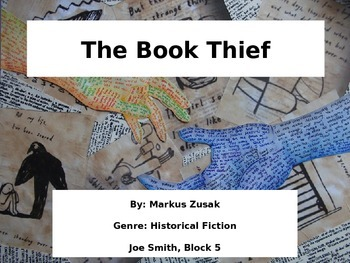 Visual Essay Example (The Book Thief)