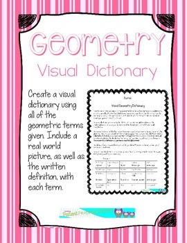 Visual Geometry Dictionary