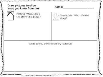 Visual Literacy Graphic Organizer