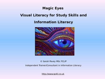 Use Visual Literacy techniques to teach Study Skills and I