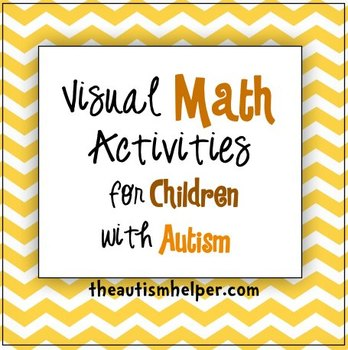 Visual Math Activities For Children With Autism By The Autism Helper