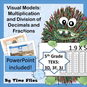 Visual Models - Multiplication and Division of Decimals an