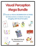 Visual Perception Mega Bundle: 21+ Print-and-Go Activities